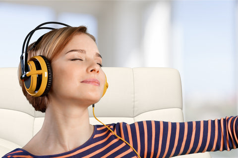 Tune In to Music to Tune Out the Stress