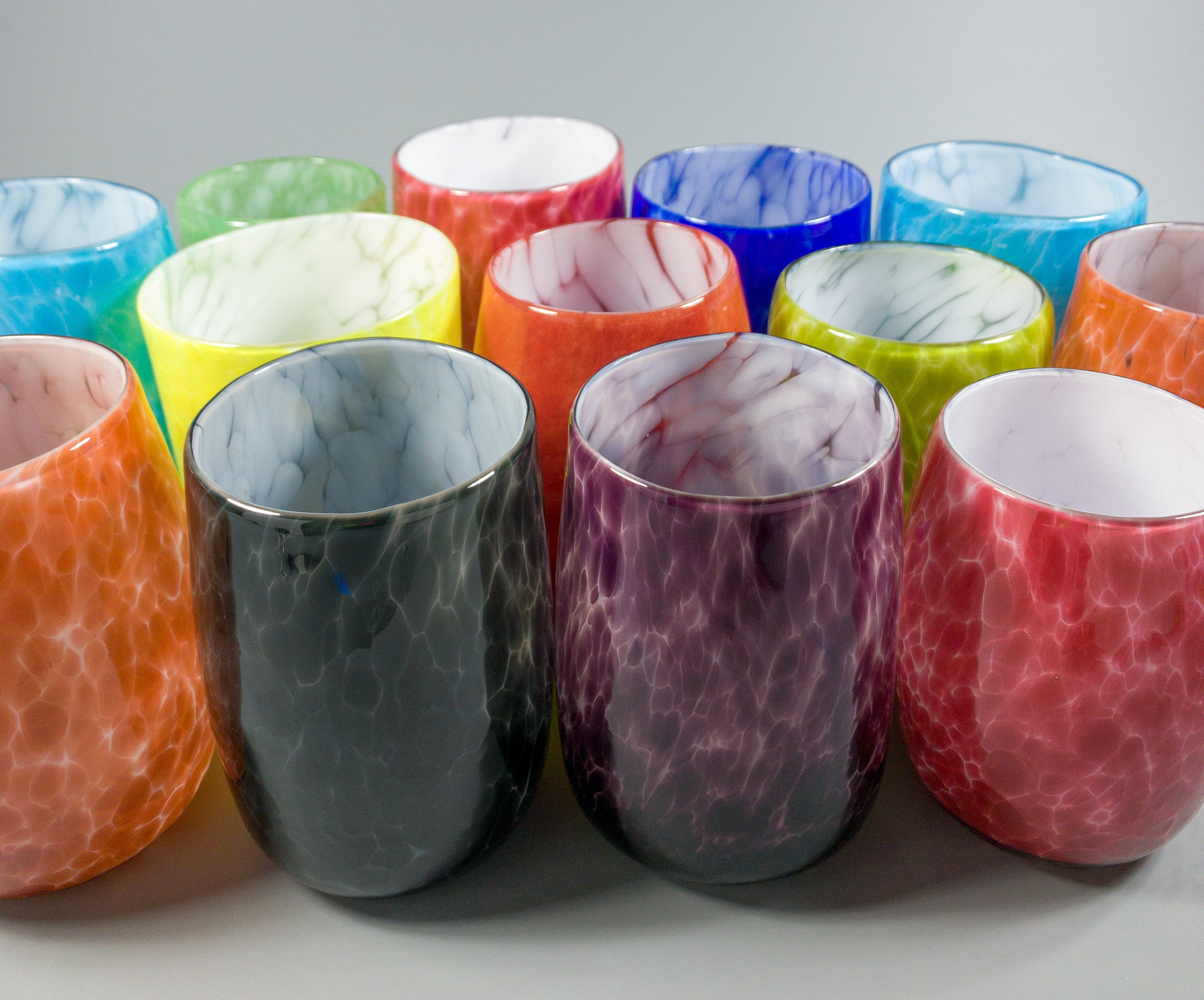 Cheerful Cups: Eggplant