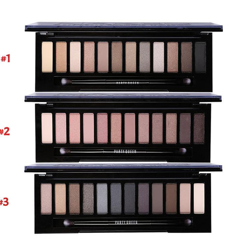 12 Color Smokey Eyeshadow Palette