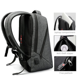 2017 New Design - Anti-theft External USB Charge Port Laptop Backpack