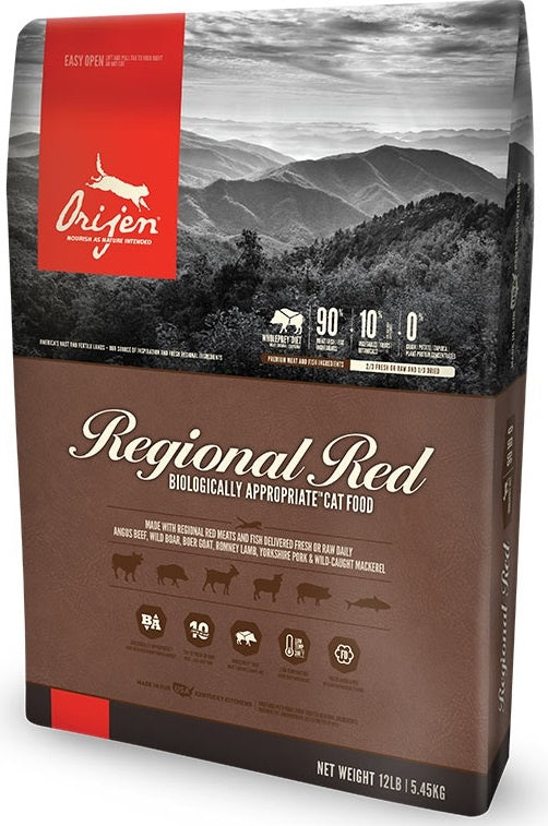 ORIJEN Grain Free Regional Red Dry Cat Food