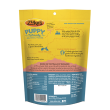 Zukes Puppy Naturals Grain Free Salmon and Chickpea Dog Treats