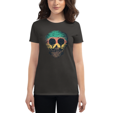 Nature Skull Women's t-shirt