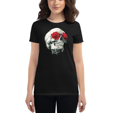 Flower Skull Women's t-shirt