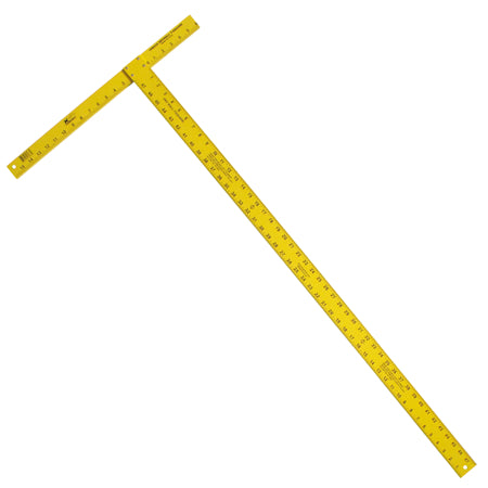 "Kraft - 54"" High Visibility T-Square (Yellow)"