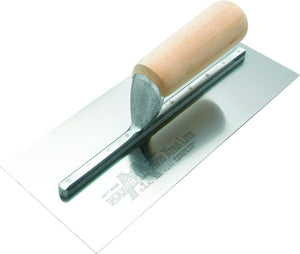 "4 1/2"" x 11"" Drywall Trowel with Wood Handle"
