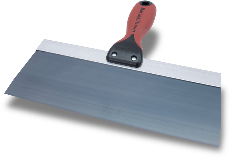 "10"" x 3"" Blue Steel Taping Knife with Durasoft II Handle"