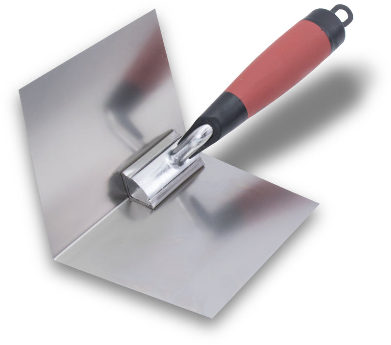"4"" x 5"" Inside Corner Drywall Trowel with Durasoft Handle"