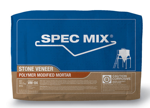 Poly Modified Stone Veneer Mortar