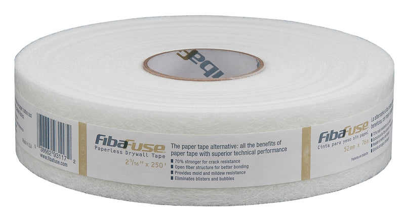 Fibafuse Paperless Drywall Tape  - 250 Feet