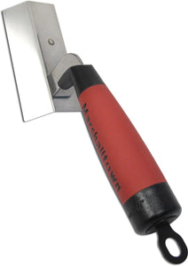 "1"" x 4 1/4"" Right Hand Angle Trowel with Durasoft Handle"