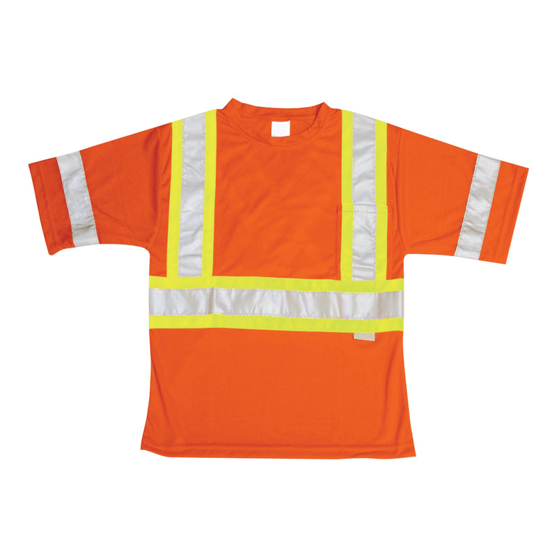 Orange High-Viz Safety T-Shirt - Medium