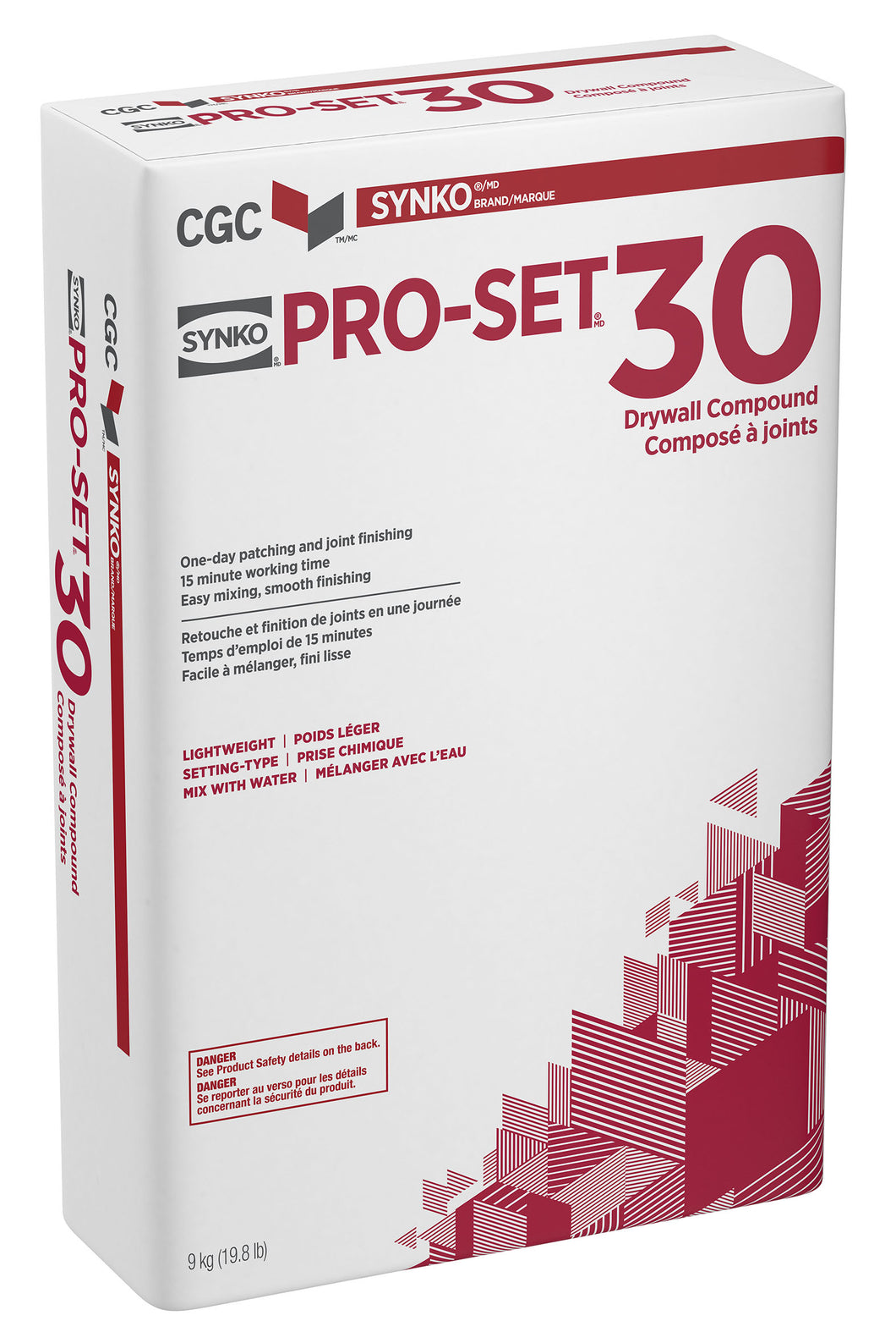 Pro Set 30 Lite Sand- Setting Type Drywall Compound
