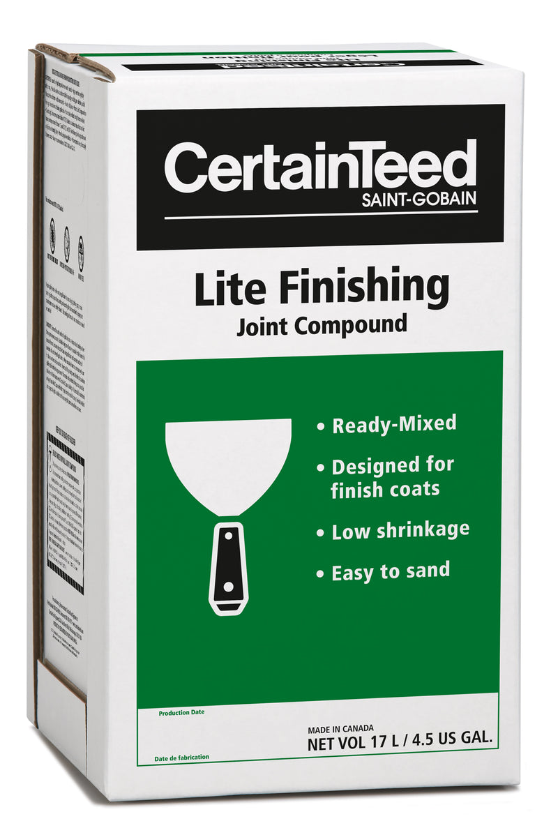Lite Finishing Drywall Compound (Green/17L)