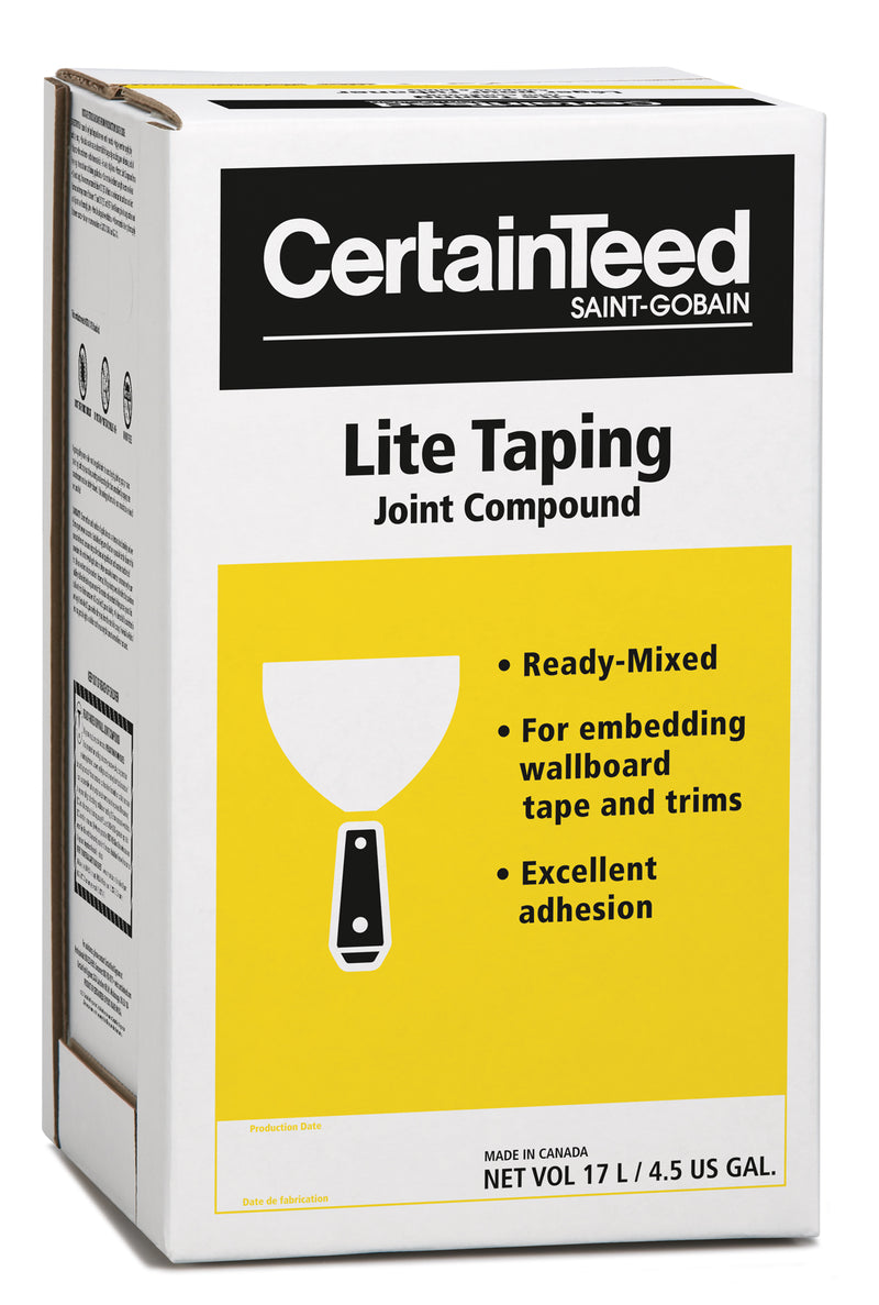 Lite Taping Drywall Compound (Yellow/17L)