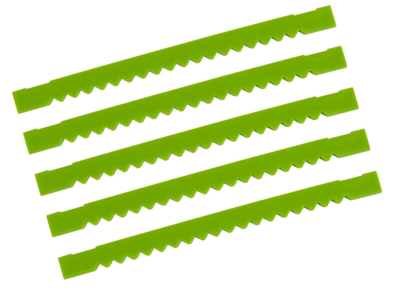 Quickbox QSX Green Notched Replacement Blade