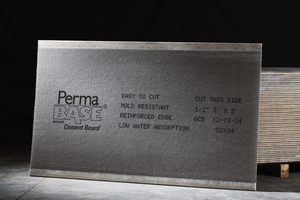 "PermaBase Plus Cement Board - 1/2"" x 48"" x 8'"