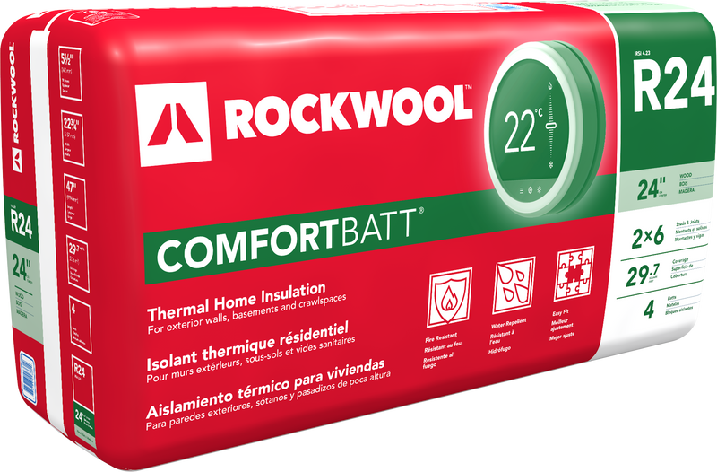 "R24 - 23"" Comfortbatt Wood Insulation"