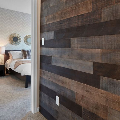 Raw-Ish Wood Wall