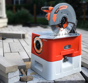 "IQ360 14"" Masonry Saw with built in Vacuum System"