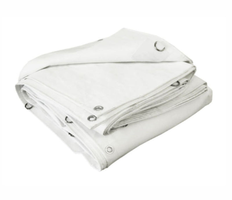 White New Insulated Tarps - 12' x 20'