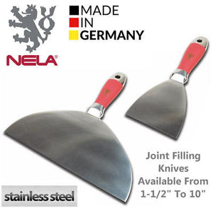 Nela Taping Knife - Anti Slip Handle (Stainless Steel)