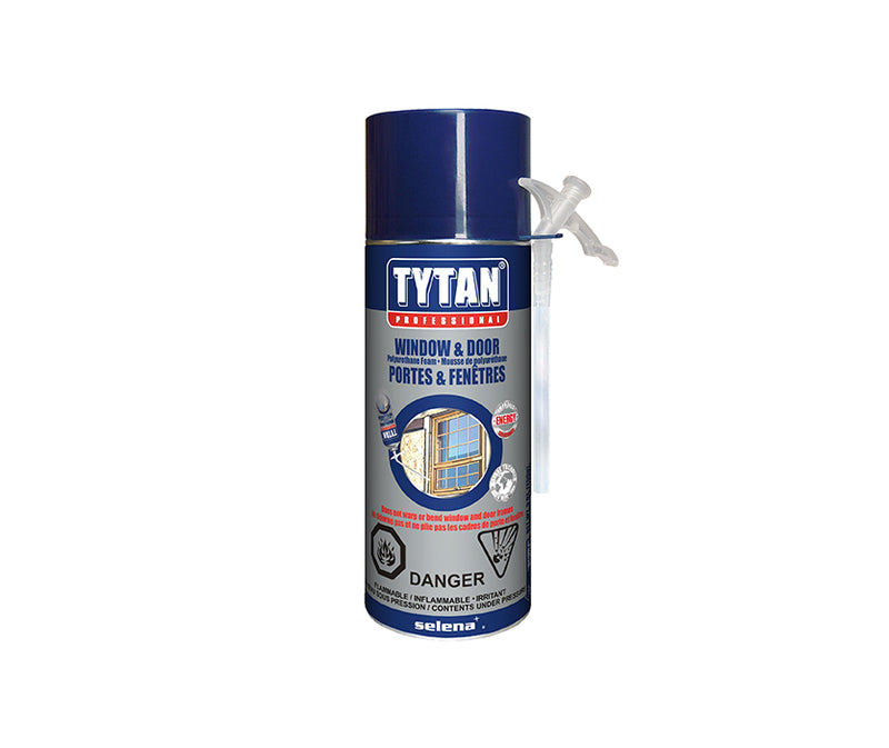 Window & Door Foam - 9 Oz Straw Foam Can - TyTan