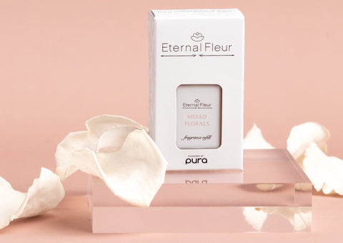 Pura Smart Home Diffuser - Mixed Floral Fragrance Refill - White/x 1/White