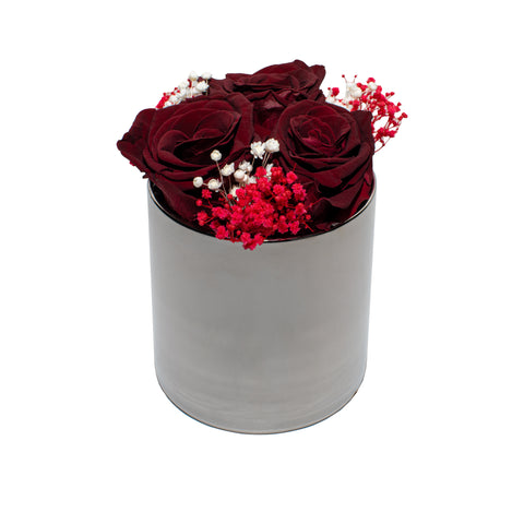 Le Jardin Collection - La Fleur Rouge - Silver/x 1/Red