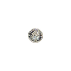 Extras - Round Petite Pin Accessory For Roses- made with Crystals from Swarovski - Glass/x 1/Swarovski