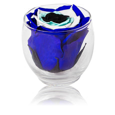 Back to School - Evil Eye Votive Bloom - Glass/x 1/Royal Navy