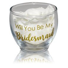 Back to School - Bridesmaid Votive Bloom - Glass/x 1/White Winter