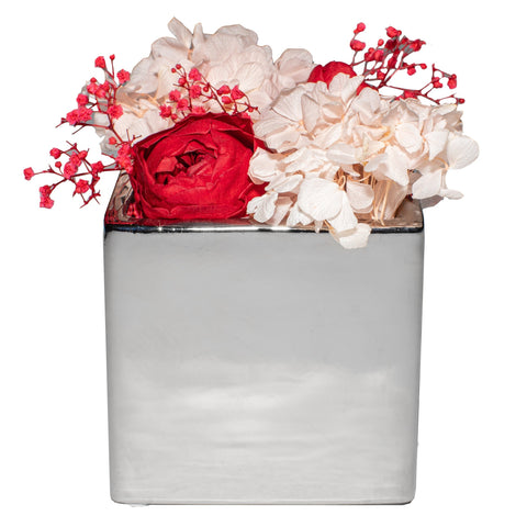 Le Jardin Collection - Peonies De Luxe - Silver/x 1/Silver