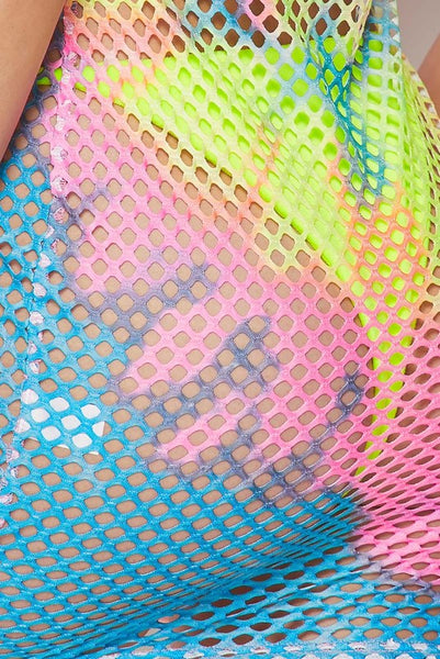 Fishnet Multi  Dress Cover Up