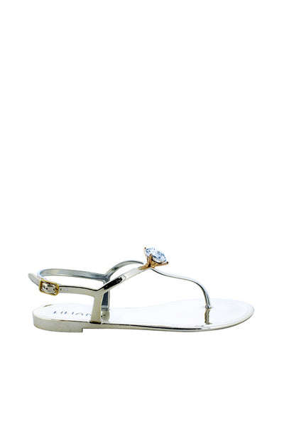 Big R.stone Ankle Strap Thong