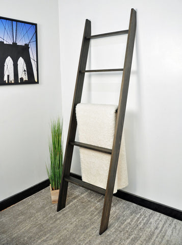 Ebony Farmhouse Ladder