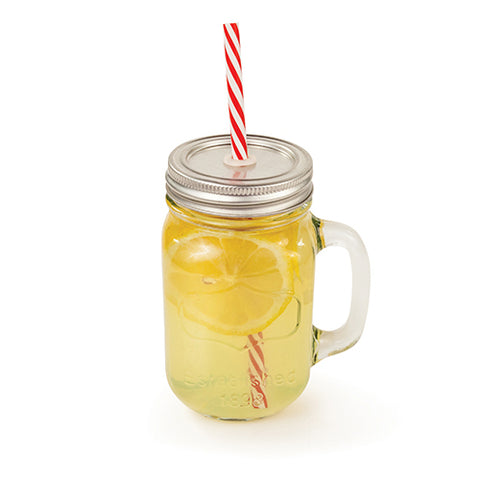 Farmhouse Mason Jar Drinking Glass for every occasion to quench your thirst