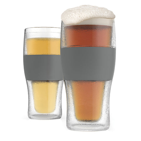 host beer freeze cooling pint glasses: The perfect cold one in summer heat