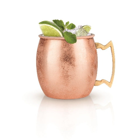 Cool lime Moscow Mule Copper Cocktail Mug