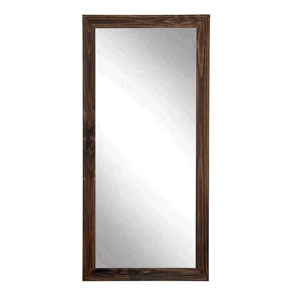 Rustic Espresso Full Length Mirror: Reflect Your Identity
