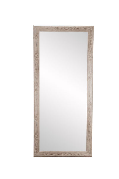 2 sizes for your rustic white full length mirror