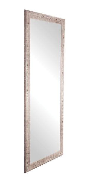 Rustic White Full Length Mirror: Accent Your Home