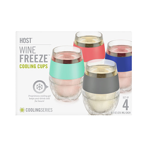 Host Wine FREEZE™ Cooling Cups (Set of 4)