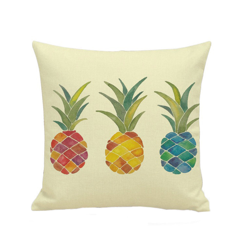 Pineapple Throw Pillow Case
