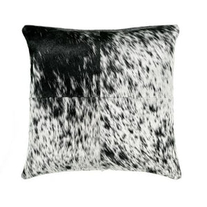 Saddlemans Black White Salt & Pepper Mix Pillow