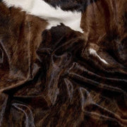 Saddlemans Dark Tri-Color Hide Close Up