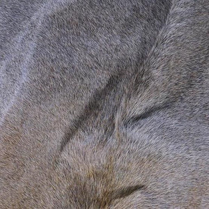 Saddlemans Gris Tan & Grey Mix Hide Close Up