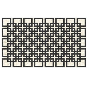Saddlemans The Alicia Black Custom Rug