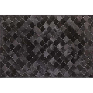 Saddlemans The Amy Black Luxury Rug Close up