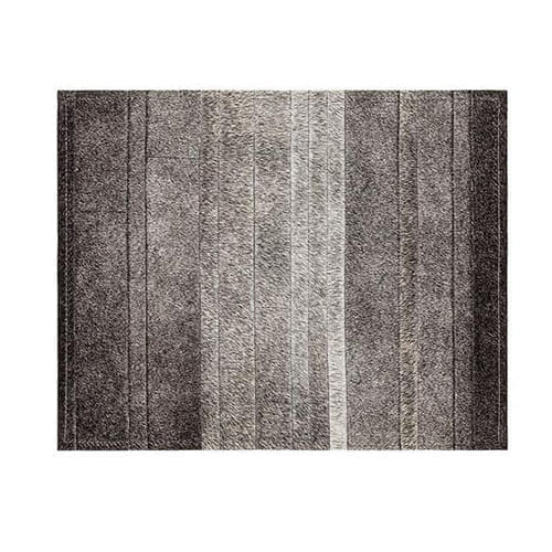 Saddlemans The Fitzgerald Grey Custom Rug